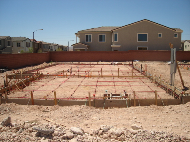 Foundation concrete pictures nevada home inspections for How much does it cost to have a foundation poured